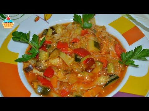 Овощное рагу с картофелем и капустой - пошаговый рецепт с