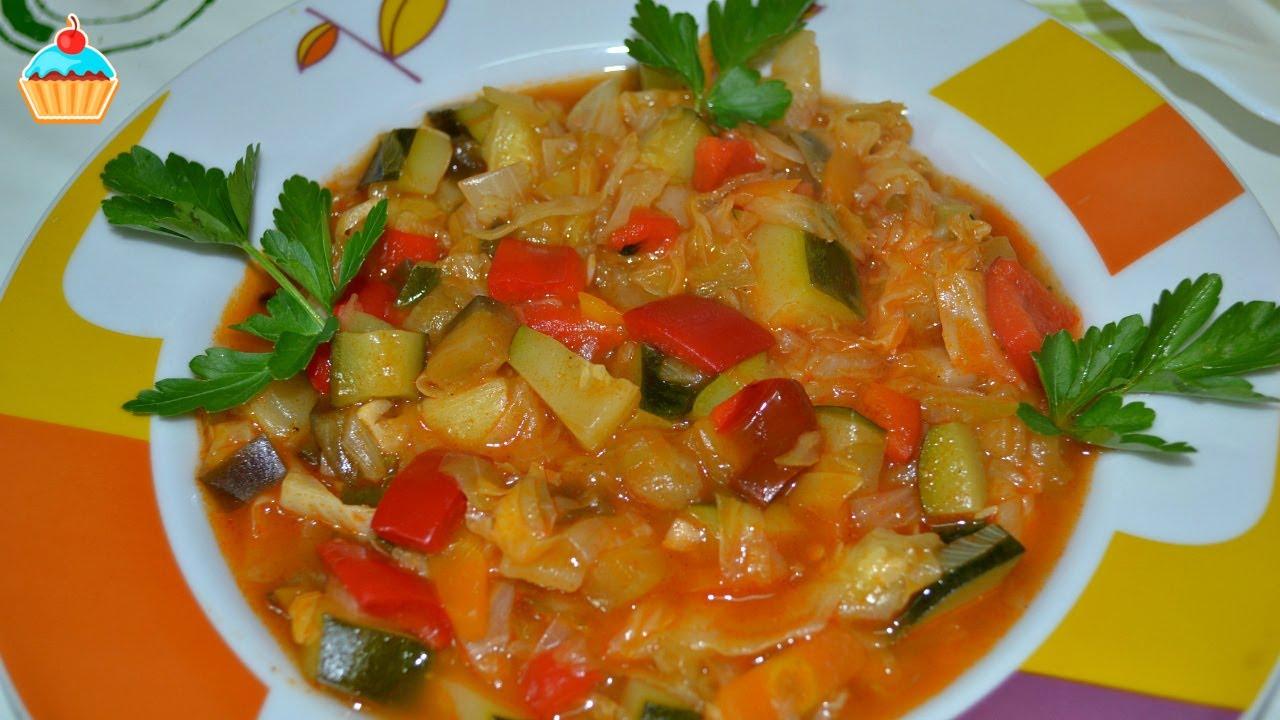 фото перцем овощное с болгарским с рагу