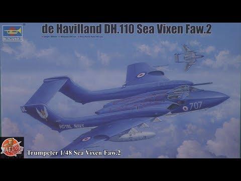 Trumpeter 1/48 Sea Vixen Faw.2 Review
