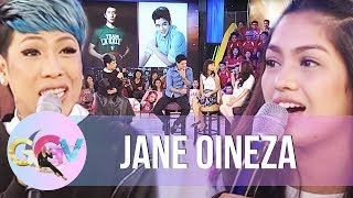 Jane Oineza chooses Jeron over Joshua | GGV