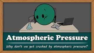 Why don't we get crushed by atmospheric pressure? | Smart Learning for All