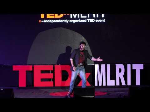 A Journey of a Loser : Comics, Karna & Secrets of Ancient India | Karan Vir Arora | TEDxMLRIT
