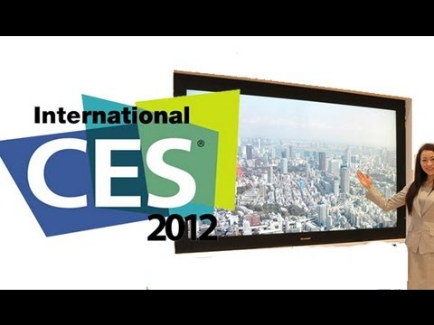 CES 2012: World's First 8K HDTV Prototype - 16x 1080p resolution!