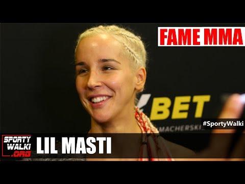 Lil Masti po Fame MMA 4: Czuam kontrol i zimny umys
