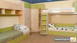 «Киви» модульный набор мебели для детской комнаты(, 2013-04-01T07:20:27.000Z)