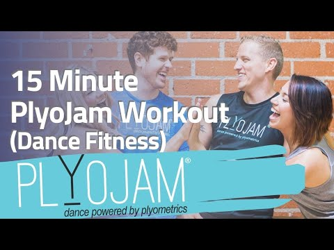 15 Minute Dance Workout| PlyoJam | Online Dance Fitness