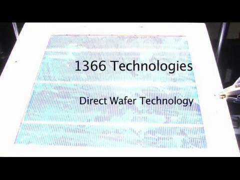 Faces of the Recovery Act: 1366 Technologies
