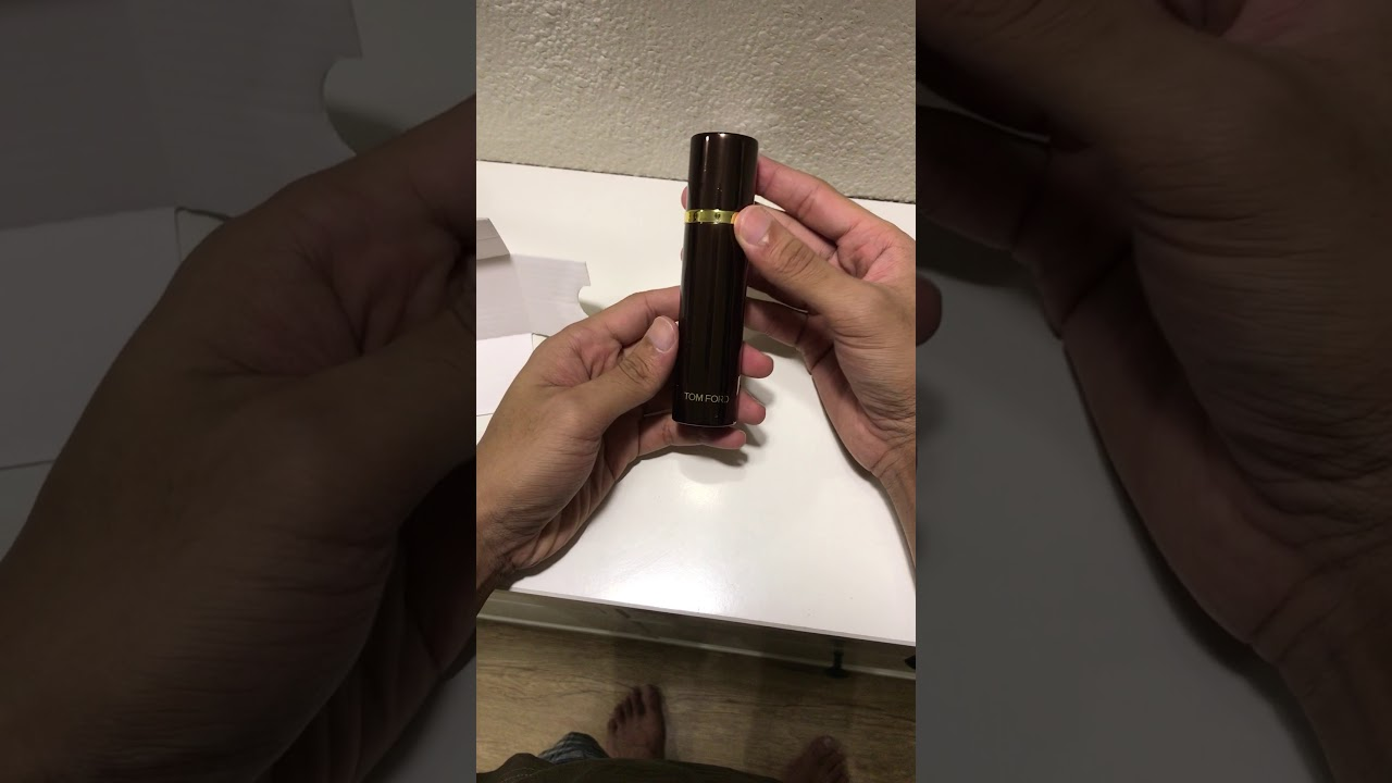 1fe005c25e31c Accessing the Tom Ford Atomizer - YouTube