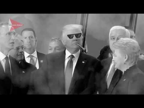Donald Trump  Move Bitch Get Out Da Way a NATO Leader Dusko Markovic  THUG LIFE
