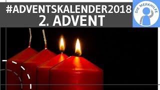 Buchverlosung zum 2. Advent – Die Merkhilfe Adventskalender 2018 (Weihnachten)