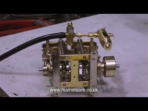 A STEAM ENGINE AND STEAM PARTS FROM CHINA - IN THE WORKSHOP