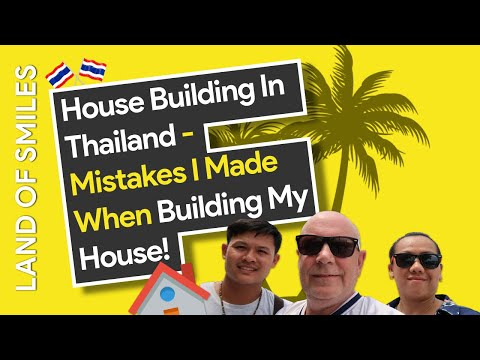 Mistakes i made when building my house in Thailand Vlog 46