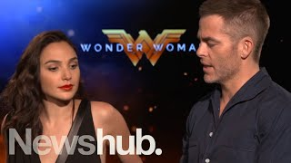 Wonder Woman interview: Gal Gadot and Chris Pine | Newshub