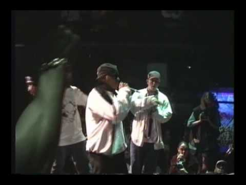 Ultramagnetic MC's  (Kool Keith)-- Poppa Large live @ Bomb Party in SF 7/5/1993