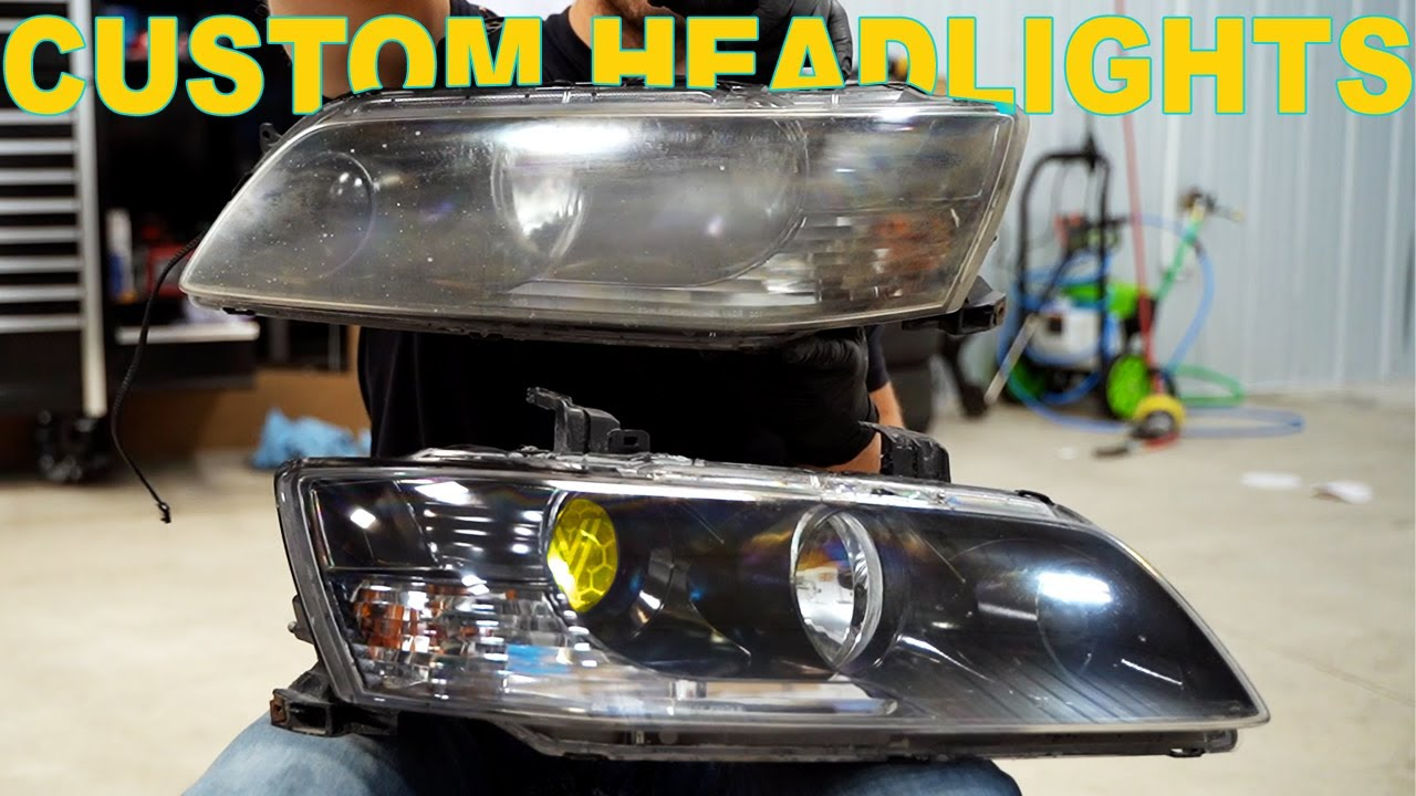 Customizing The Evo Headlights!