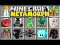 Minecraft METAMORPH MOD | SHAPESHIFT OR MORPH INTO ANY MINECRAFT BOSS, BLOCK OR YOUTUBER!!