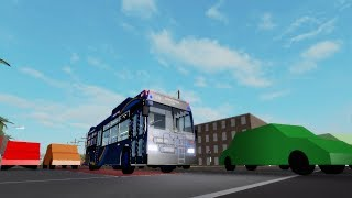 Roblox: Driving NTA's Orion VII NG HEV 1821 on route n35 LTD to Sunset Park - 1 AV via church