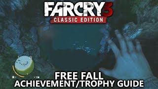 Far Cry 3 Classic - Free Fall Achievement/Trophy Guide - Freefall more than 100m and live