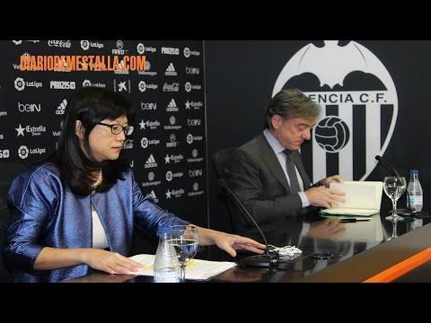Rueda de prensa de Layhoon Chan y García Pitarch