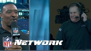 Bill Belichick Steps into the Announcers Booth at the NFL Scouting Combine | NFL Network