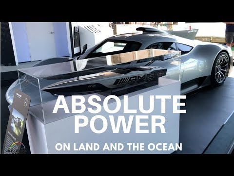 Cigarette Racing 515 Project ONE at the 2018 Miami International Boat Show