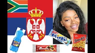 SOUTH AFRICAN TRIES SERBIAN SNACKS