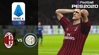 AC Milan vs Inter - Serie A - Prediction - PES 2020