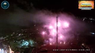 Record Guinness El Castillo Pirotécnico más Grande del mundo en Jilotepec (Extendido)