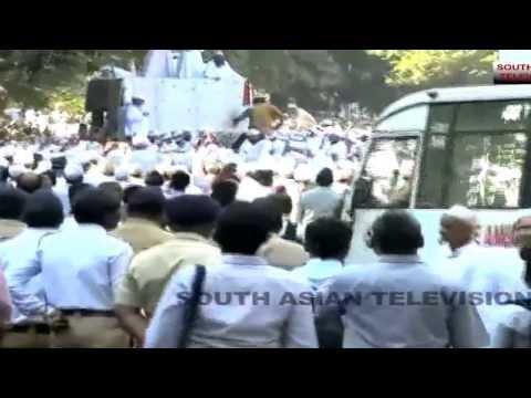 18 Indian Muslims killed in stampede in funeral of Bohra spiritual leader