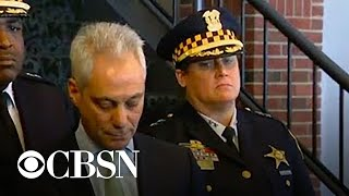 Chicago Mayor and police speak after Smollett charges dropped, live stream