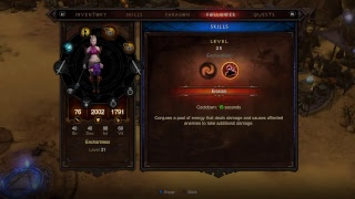 DIablo 3 reaper of souls gameplay (Witch Doctor)