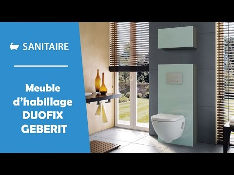 Meuble D Habillage Bati Support Geberit Duofix Youtube