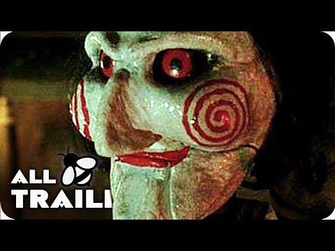 SAW 1-8 All Trailers (2004-2017) SAW I - SAW 8: Jigsaw Trailer