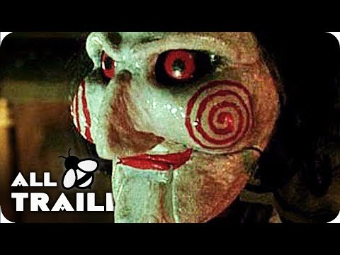Thumbnail: SAW 1-8 All Trailers (2004-2017) SAW I - SAW 8: Jigsaw Trailer