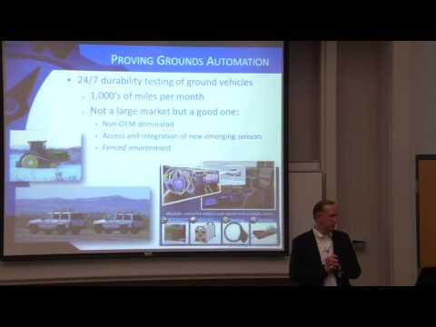 RI Seminar: Mel Torrie : Lessons Learned Bootstrapping a Robotic Vehicle Company