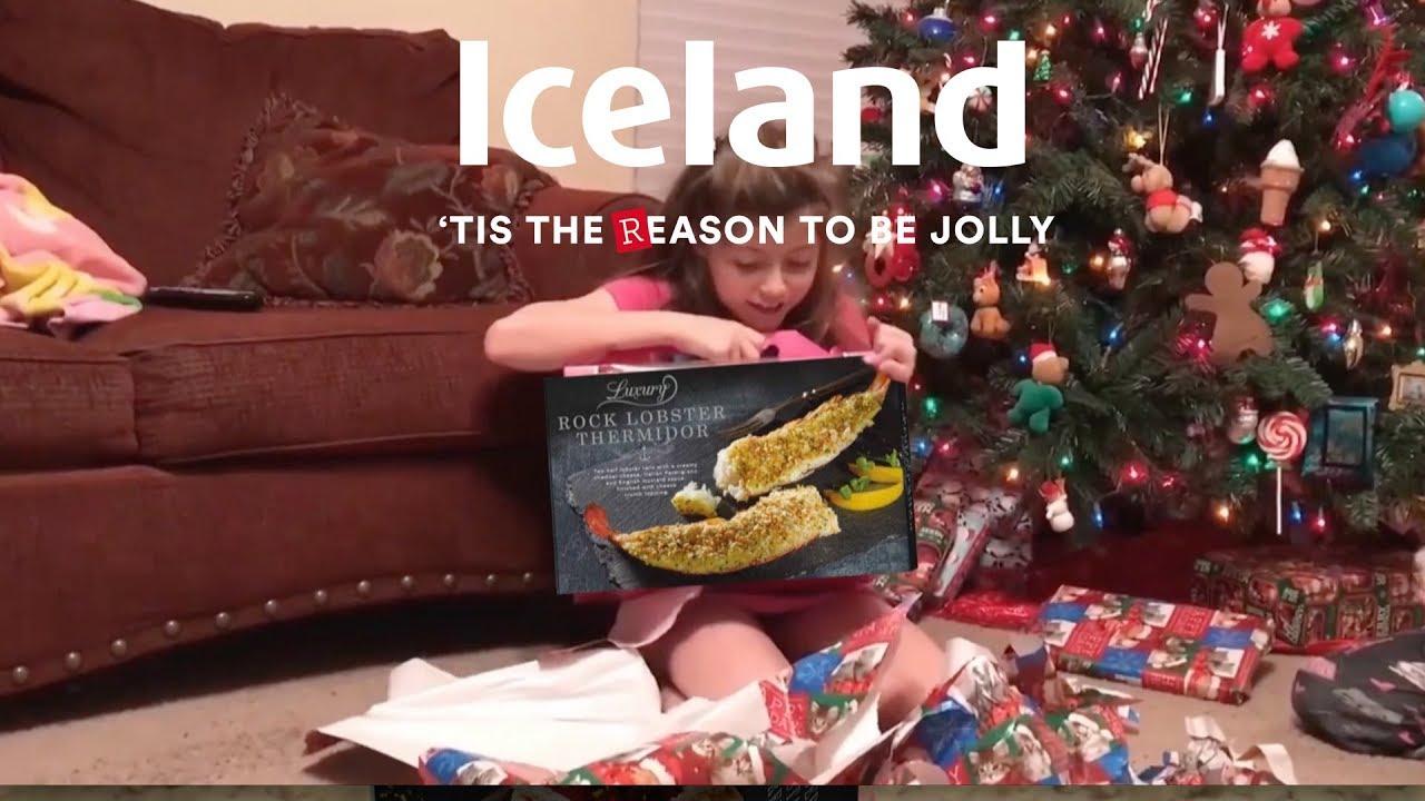 iceland christmas advert 2017 luxury rock lobster. Black Bedroom Furniture Sets. Home Design Ideas