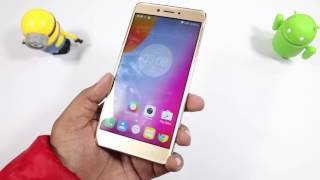 Lenovo K6 Note India Unboxing Camera Features Hindi