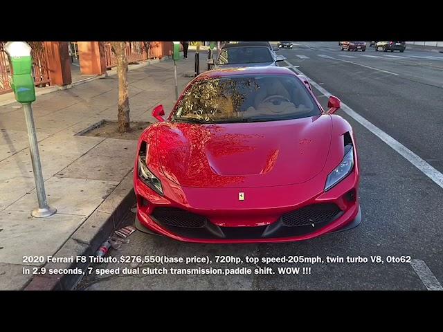 2020 Ferrari F8 Tributo Youtube