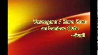 Vaseegara song on bamboo flute