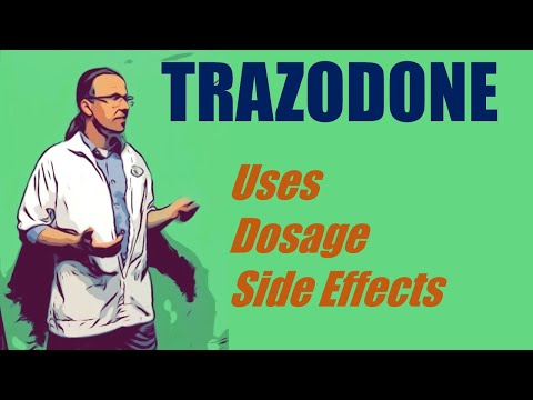 Trazodone 50 Mg Uses Dosage And Side Effects