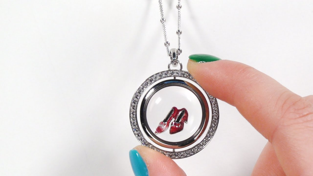 Origami Owl Review: Breast Cancer Awareness Locket | 720x1280