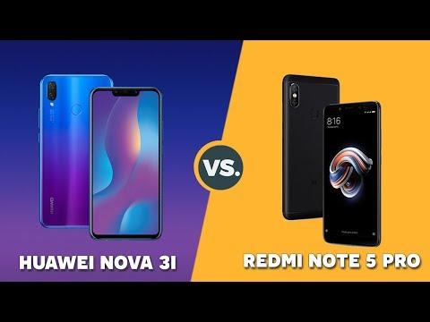 Speedtest Huawei Nova 3i vs Xiaomi Redmi Note 5 Pro: Kirin 710 vs Snapdragon 636