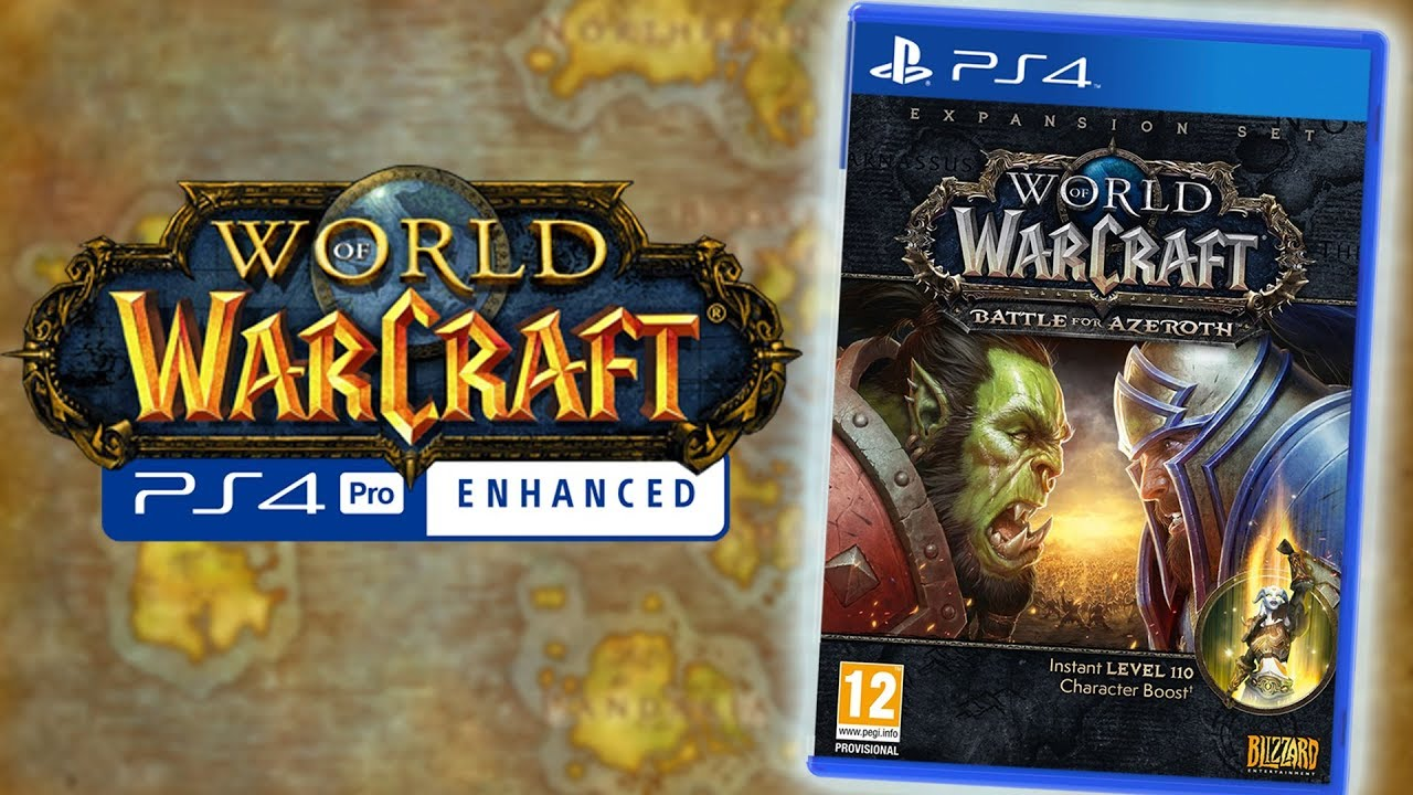 Tidssvarende World of Warcraft: PS4 Edition - Coming Soon™? All the info on the KK-96