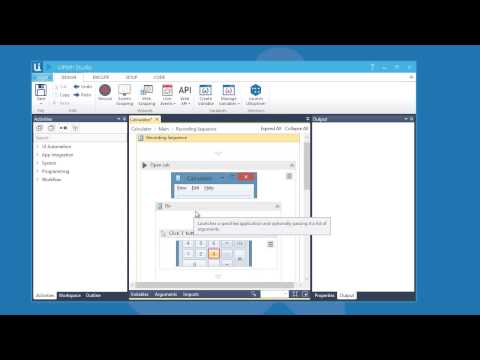UiPath Studio – Introduction to Desktop Automation