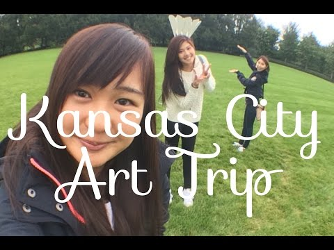 Travel Sisters | Kansas City Art Trip Vlog (feat. Lil Lowe)