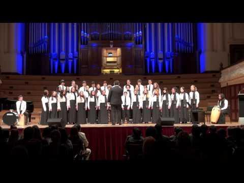Big Sing 2014: Tarakihi - Traditional Maori folk song