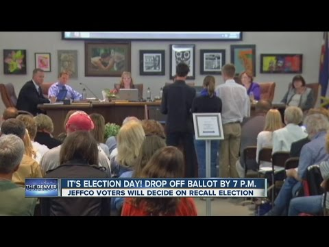 Jeffco voters to decide on recall election