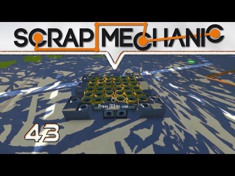 SCRAP MECHANIC ★ 43 Hover Platform Nachbau ★ Let's Play Deutsch / German Gameplay