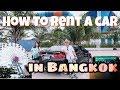 How to Rent A Car in Bangkok and Drive to Santorini Park Hua Hin? Vlog Myfunfoodiary