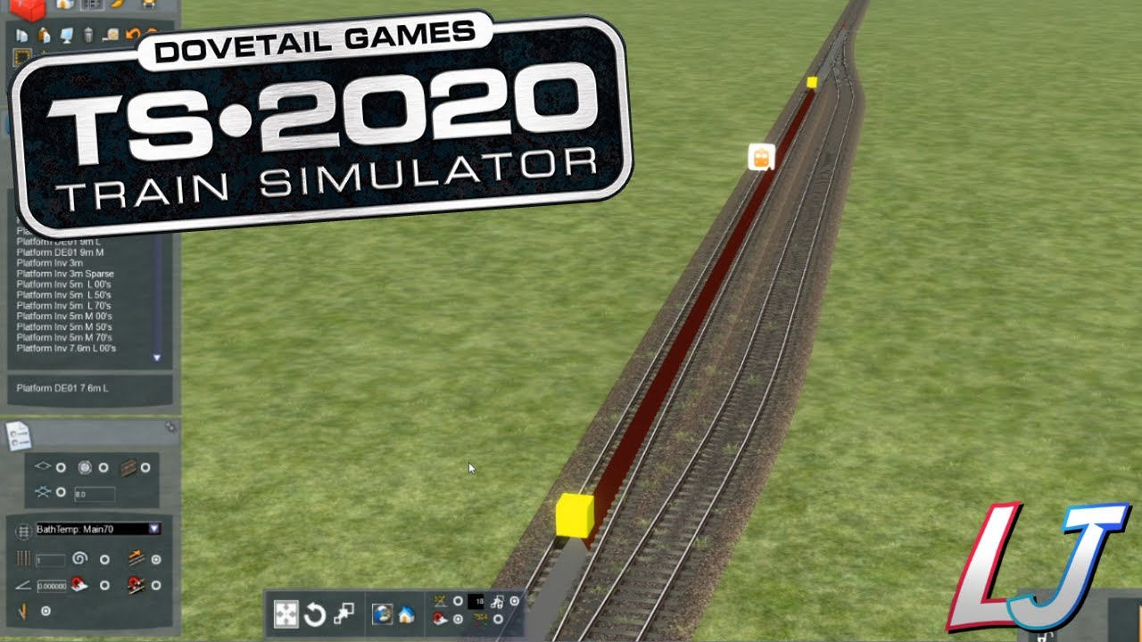 Train Simulator 2020 - Route Building Tutorial #1